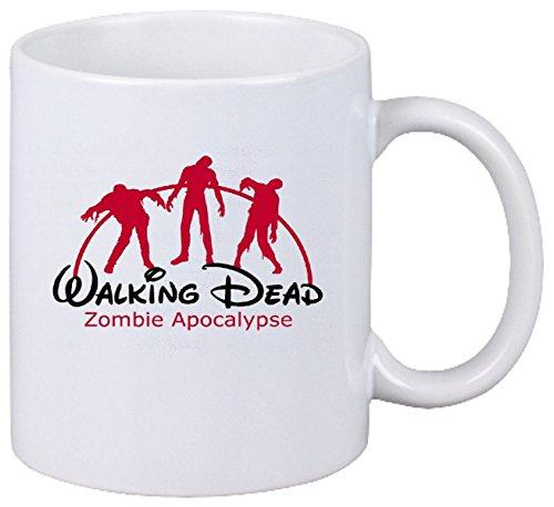 Coffee Mug WALKING DEAD ZOMBIE APOCALYPSE DOOMSDAY Tea Cup ... Ceramic - Height: 9 cm - Diameter: 8 cm - Volume: 330ml ... the ideal Gift for Work Colleagues, Partner or even yourself by Reifen-Markt