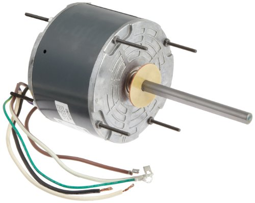 "Fasco D919 5.6"" Frame Totally Enclosed Permanent Split Capacitor Condenser Fan Motor With Sleeve Bearing, 1/8Hp, 1075Rpm, 208-230V, 60Hz, 0.9 Amps"