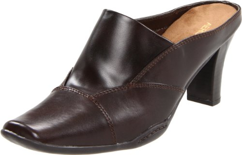 Aerosoles Women's Cincture Mule, Dark Brown PU, 10 M US