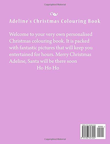 Adeline's Christmas Colouring Book