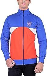 RGT Men's Fleece Regular Fit Sweatshirts (RGT6029ROYALORANGE-XXL)