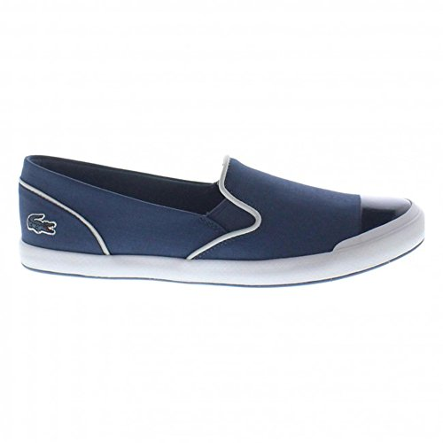 Lacoste Women's Lancelle 316 Slip on Shoes, Blue, 6
