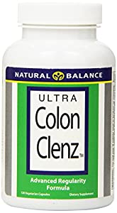 Natural Balance Ultra Colon Clenz, 120 Vegetarian Capsules