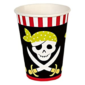 Meri Meri Pirate Party Cups, 12-Pack from Meri Meri