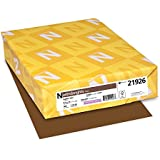 Neenah Astrobrights Premium Color Paper, 24 lb, 8.5 x 11 Inches, 500 Sheets, Jupiter Java