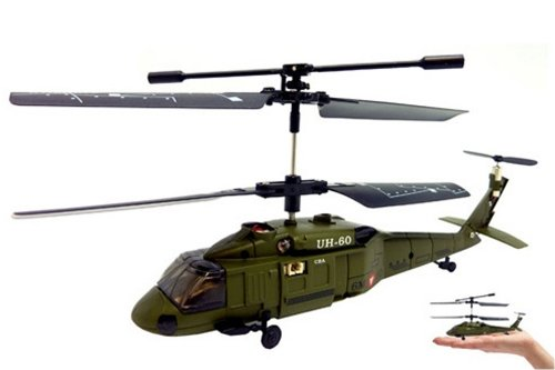 Deals Syma 3 Channel S013 Mini Infrared Black Hawk RC Helicopter
