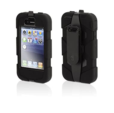 GRIFFIN iPhone4/4S対応 Survivor Survivor + Beltclip for iPhone 4 ブラック