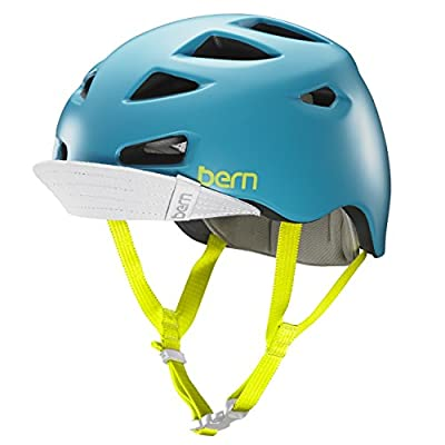 Bern Melrose Womens Bike / Cycle Helmet Medium/Large Satin Teal Blue from Bern