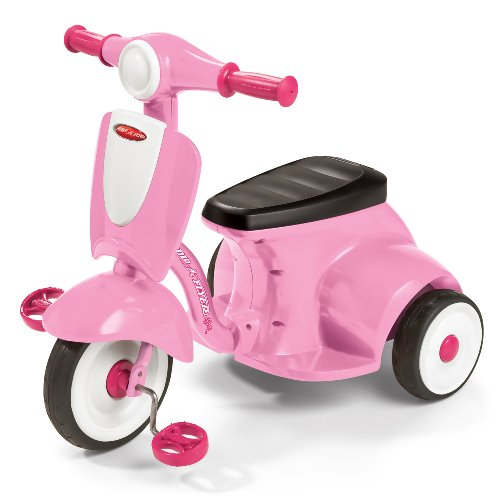 Radio Flyer Classic Lights and Sound TrikeTM, Pink [Amazon Frustration-Free Packaging]