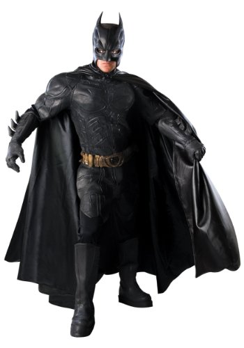 Rubies Mens Deluxe Batman The Dark Knight Grand Heritage Collector Costume
