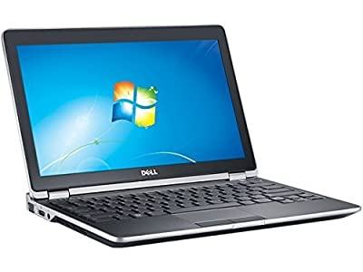 Dell Latitude E6230 12.5-Inch Premium Business Laptop (Intel Core i3-3120M up to 2.5 GHz Frequency, 4GB DDR3 RAM, 320GB HDD, Windows 7 Professional upgradable to Windows 10) (Certified Refurbished)