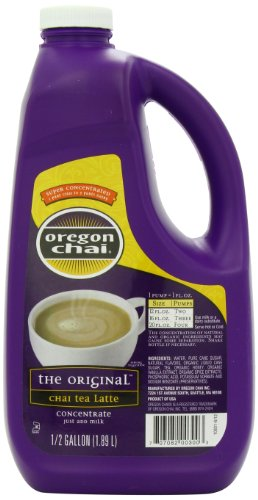 Oregon Chai Original Chai Tea Latte Concentrate, 64 Ounce Jug