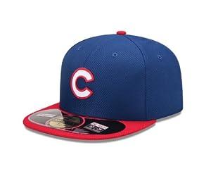MLB Chicago Cubs Diamond Era 59Fifty Baseball Cap, 6.875, Royal