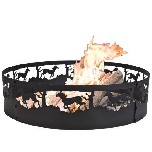 CobraCo FRHORS369 Horse Campfire Ring