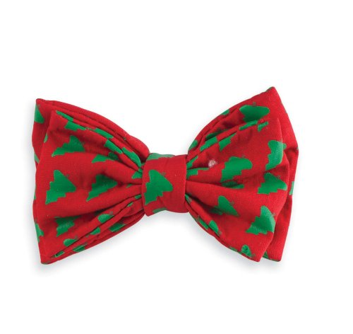 Mud Pie Baby-Boys Newborn Holiday Clip On Bow Tie, Multi, One Size front-520500