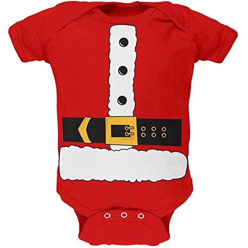 Santa Claus Body Costume Baby One Piece