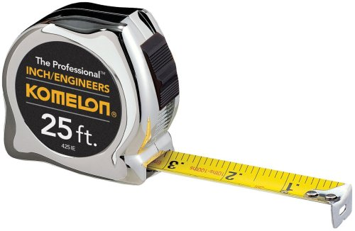 Komelon 425IE The Professional 25-Foot Inch/Engineer Scale Power Tape (Engineers Scale 25 compare prices)