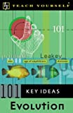 img - for Teach Yourself 101 Key Ideas: Evolution book / textbook / text book