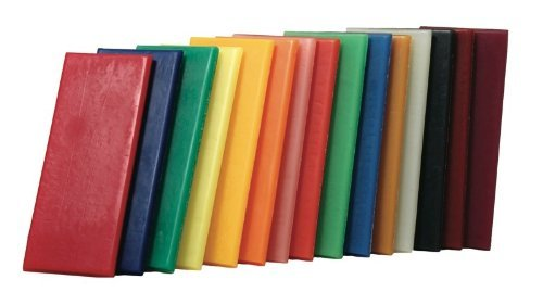 Stockmar Natural Modeling Beeswax - Set of 15 Colors in Box (Modeling Beeswax compare prices)