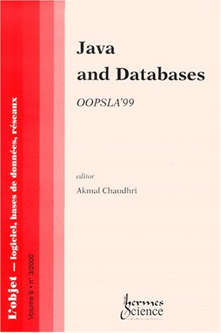 java and databases oopsla'99
