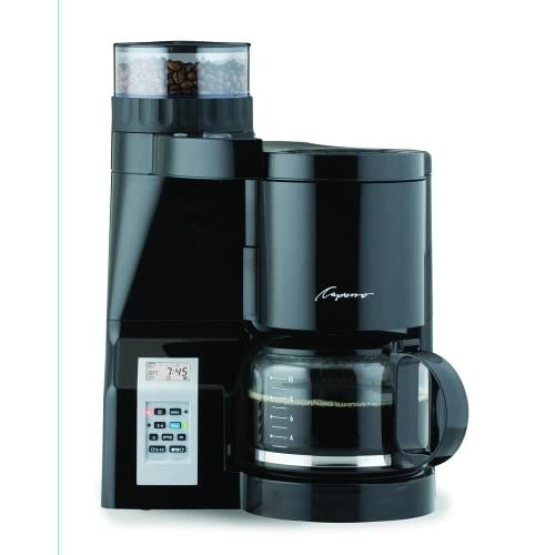 Amazon.com: Capresso 454 CoffeeTEAM-S Coffee Maker/Burr Grinder Combination: Kitchen & Dining