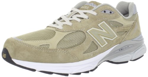 Balance - Mens 990v3 Stability Running Shoes, UK: 12 UK - Width 4E, Beige with White