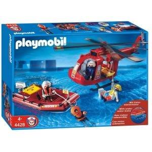 PLAYMOBIL®-SOS-Helikopter/Rettungsboot