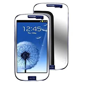 Importer520 3 Pack High Definition Mirror Screen Protector Film Shield for Samsung Galaxy S III / S3 i9300