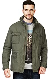 North Coast Pure Cotton Funnel Neck Field Jacket