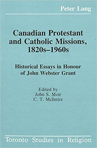 canadian history thesis