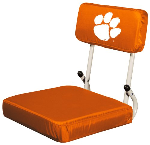 Ncaa Clemson Tigers Hard Back Stadium Seat