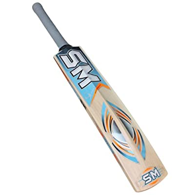 SM Milestone Kashmir Willow Cricket Bat, Short Handle