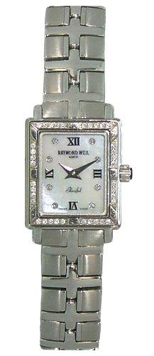 Raymond Weil Women's 9631-STS-00995 Parsifal Diamond Watch
