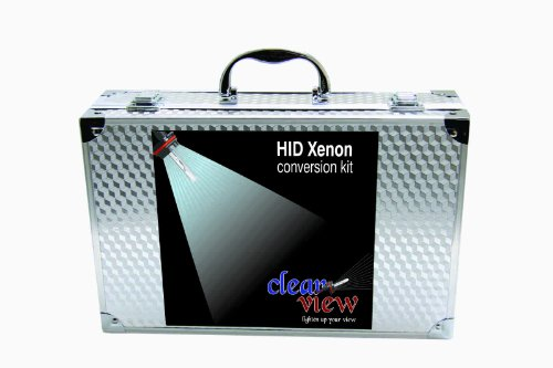 "Clear View HID Xenon Conversion kit ""All Bulb Sizes and Colors"" With Premium Digital Ballast 9004 Lo/High Halogen-6000K"