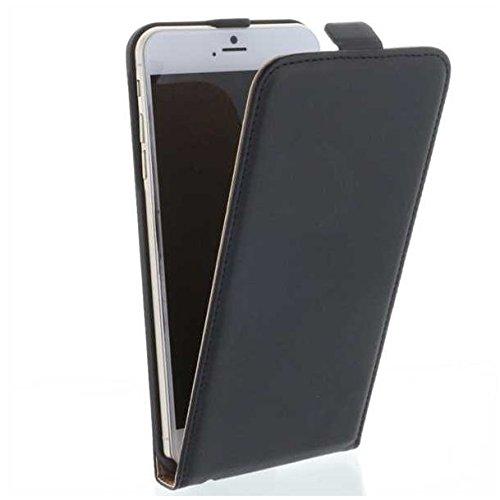 Flip verticale stile pu custodia in pelle con supporto per Huawei Mate S, colore: nero