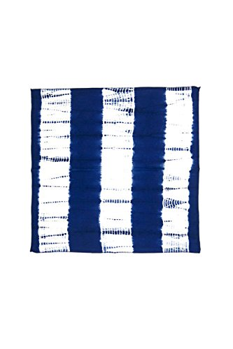 Vagabond-Vintage-100-Hand-Dyed-Cotton-Napkins-in-Dark-Indigo-Blue-Shibori-2