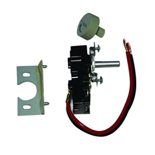 King Tkit-2 Double Pole Built In Thermostat Kit, White