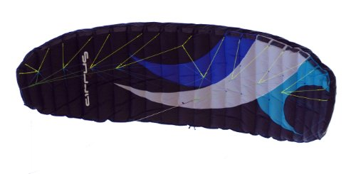 Cirrus Cirrus 5M Pro Kite - Black/Blue/Purple/White, 425 X 118 cm