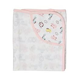 Lion nursery-receiving-blankets Baby Swaddle Pink