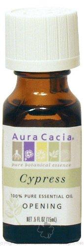 Aura Cacia Essential Solutions Oil Cypress -- 0.5 fl oz