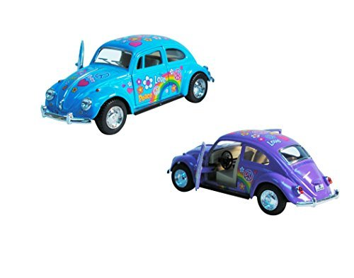 Volkswagen Beetle Peace Bug Edition 1:32 Scale - 1