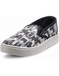Nell Women BLACK Sneakers - B074FYRPSN