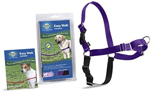 PetSafe Easy Walk Harness,  Medium/Large, DEEP PURPLE/BLACK for Dogs (Medium Size Harness compare prices)