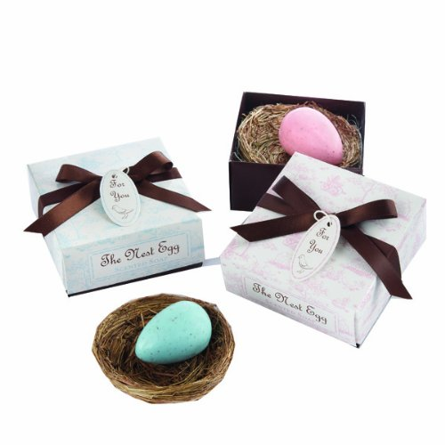 Click to buy Wedding Reception Decoration Ideas: Miniature Bird's Nest Favor from Amazon!