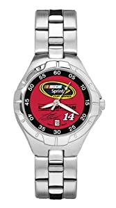 Tony Stewart 2011 NASCAR Sprint Cup Champion Ladies Pro II Watch with Stainless Steel... by Logo Art