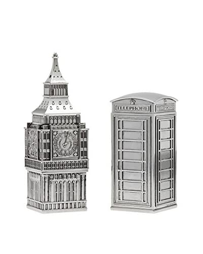 Godinger Big Ben & Phone Booth Salt & Pepper Set