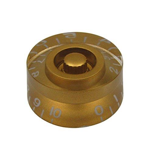 IKN di controllo di velocità grandi manopole d'oro per LP chitarra di stile, confezione da 4 pezzi