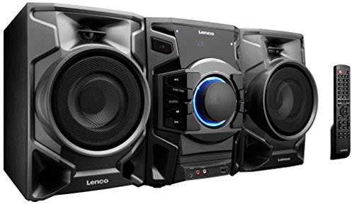 Review and Buying Guide of The Best Lenco MN-002 Midi Hi-Fi System with CD, FM Radio and USB/MP3 Playback