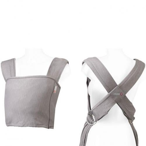 Caboo Baby Carrier from Close Parent, Frost Grey - New 2011