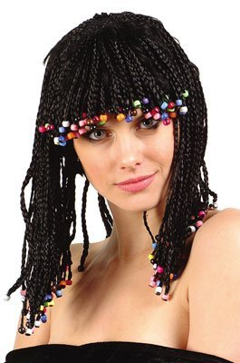 Corn Row Wig (Standard) (Corn Rows Wig compare prices)